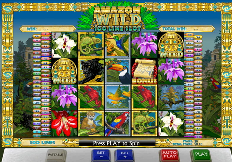 Amazon Wild Ash Gaming Slot online