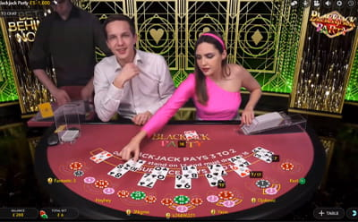 Blackjack Party Live Casino Spiel