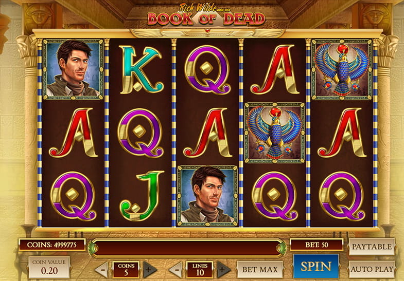 Slot Book of Dead dari Play'n GO