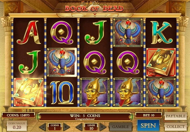 Book Of Dead Slot Rtp