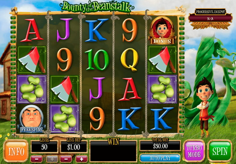 Bounty of the Beanstalk Ash Gaming Slot