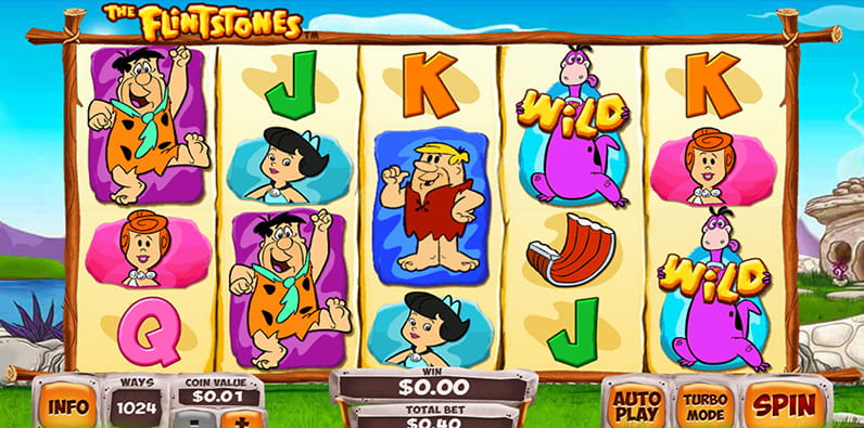 Slot Flintstones oleh Playtech Demo