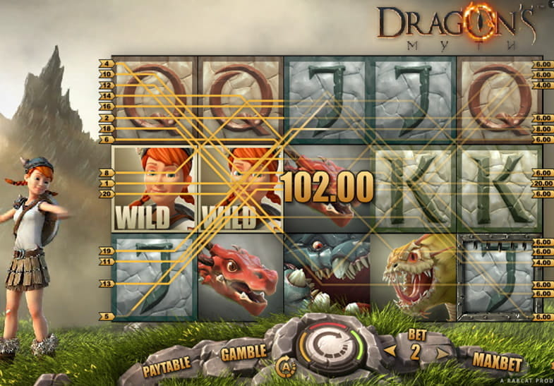 Dragon's Myth Slot Machine – Free to Play Online Casino Game