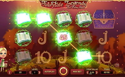 Fairytale Legends Red Riding Hood Slot Bonus Round