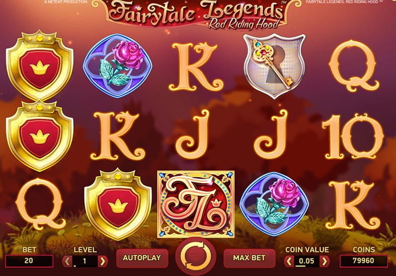 Free demo of the Fairytale Legends Red Riding Hood Slot game