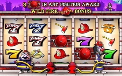 Firehouse Hounds Slot Bonus Round