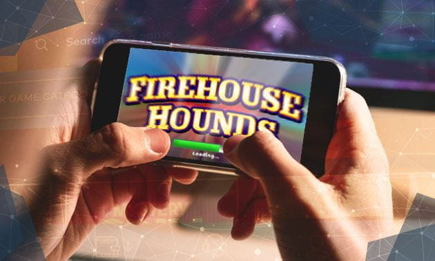 Opening Screen of Firehouse Hounds Slot by IGT