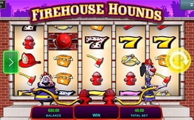 Firehouse Hounds Slot Mobile