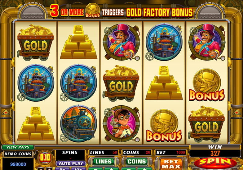 Gold Factory Slots Online – Play for Free with No Downloads