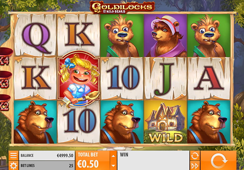 Goldilocks Slot by Quickspin