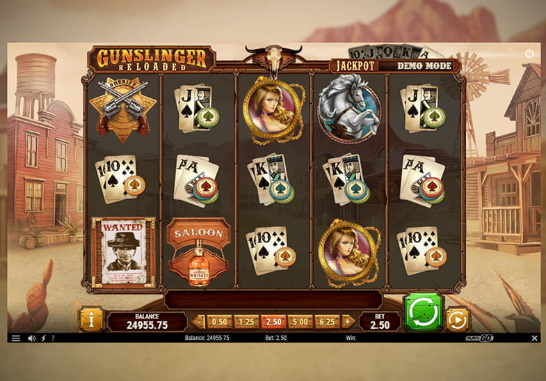 Slot Machine Gunslinger oleh Play'n GO