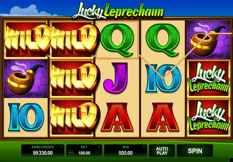 lucky leprechaun casino game