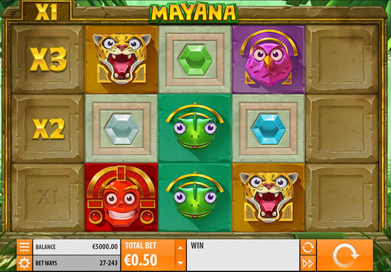 Mayana Slot by Quickspin