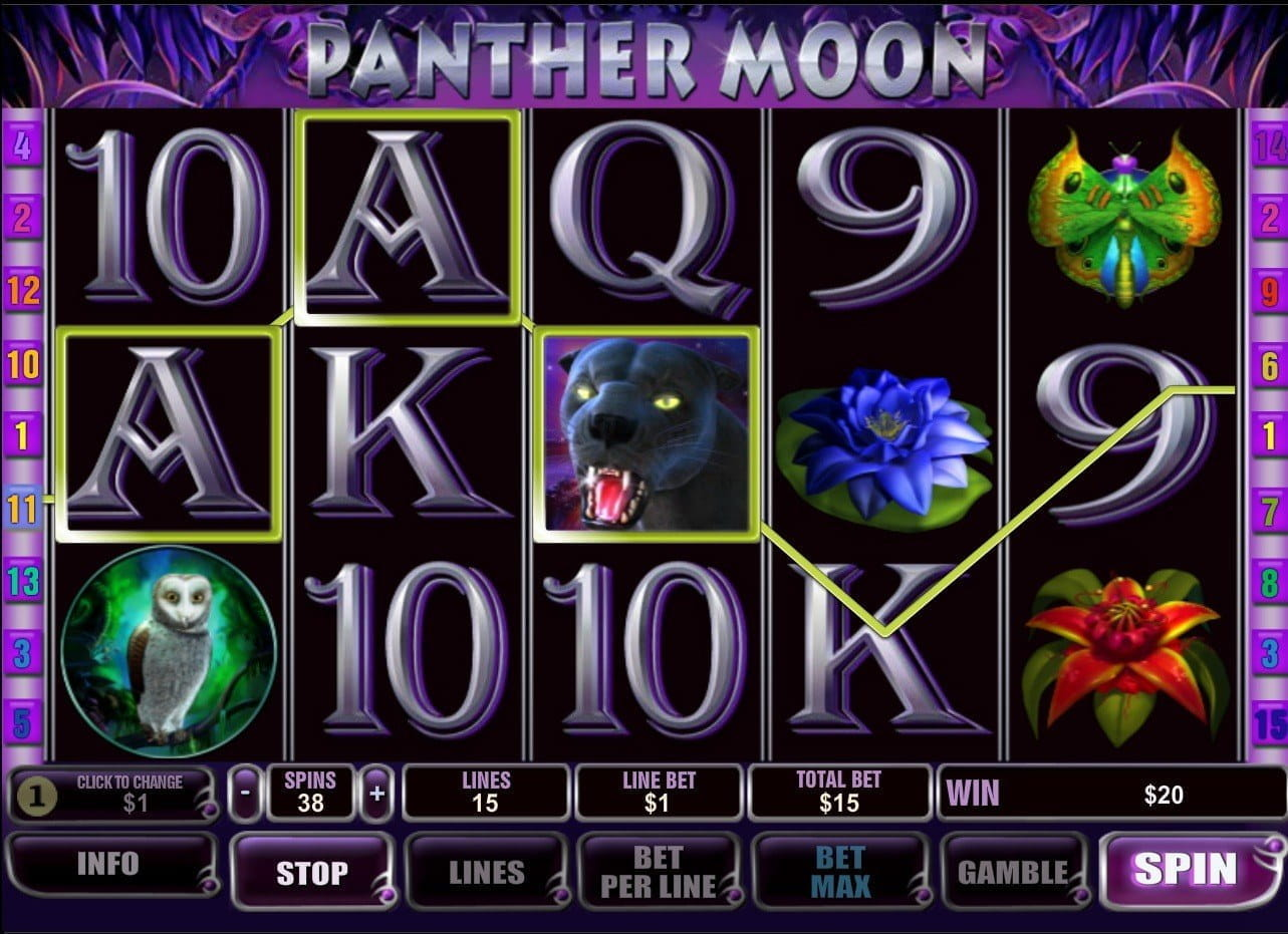 Panther Moon Slot Review - Free Spins, Payouts and More!