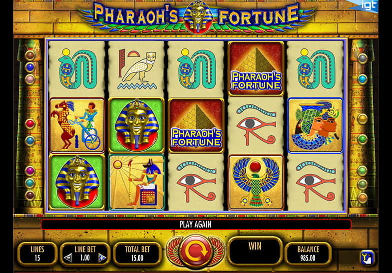legend of the pharaos casino