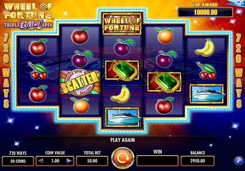 Wheel of Fortune 3x4x5x Slot Review & Free Instant Play Game