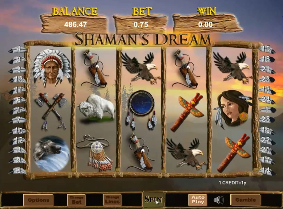 Casino Sites With Shamans Dream
