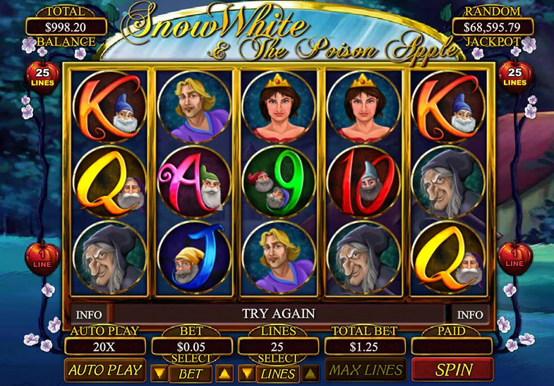 Snow White dan Poison Apple Slot oleh Betsoft