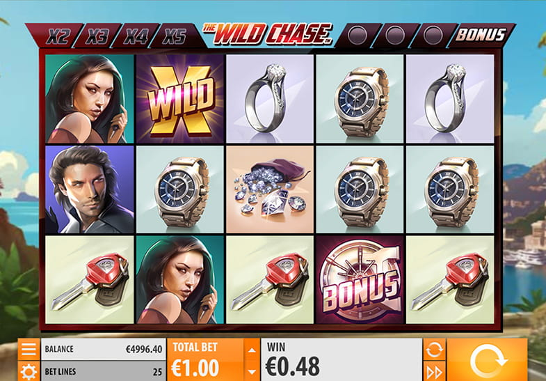 The Wild Chase Slot by Quickspin