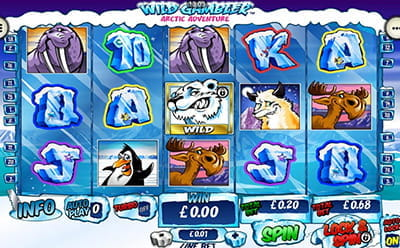 Wild Gambler Arctic Adventure Slot Mobile