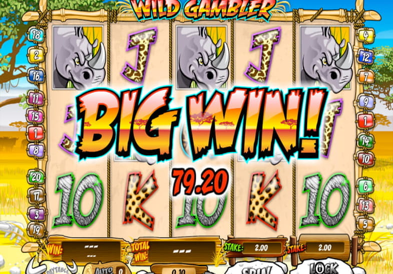 Wild Gambler Slot by Ash Gaming