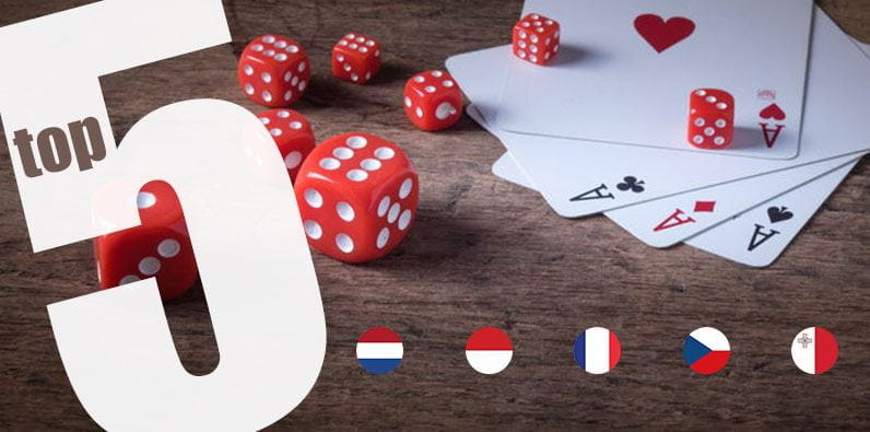 Top 5 Gambling Destinations in Europe