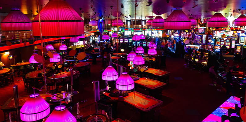 Attractive Casino Interior Design Solutions