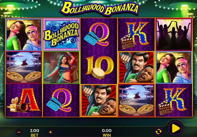Dragonfish Slots Bollywood Bonanza