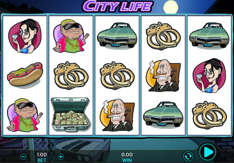 Dragonfish Slots City Life