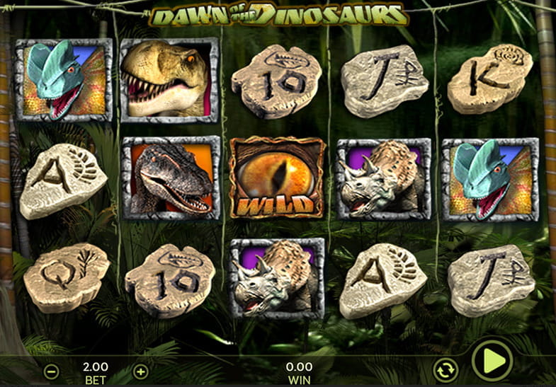 Dragonfish Slots Dawn of the Dinosaurs