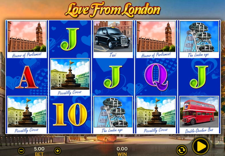 Dragonfish Slots Love from London