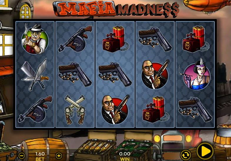 Dragonfish Slots Mafia Madness