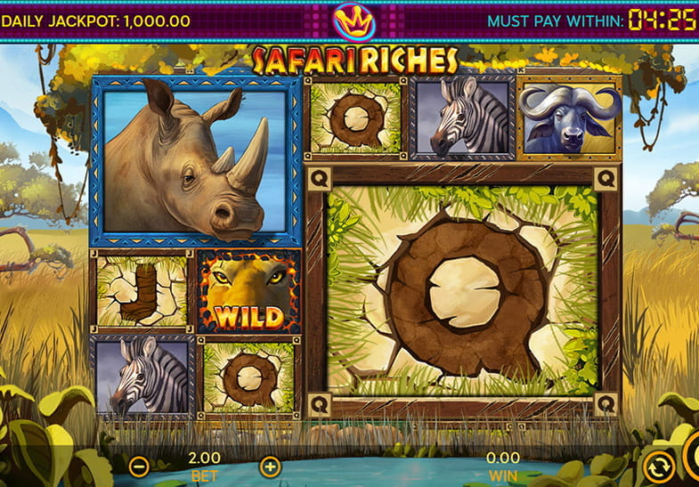 Dragonfish Slots Safari Riches