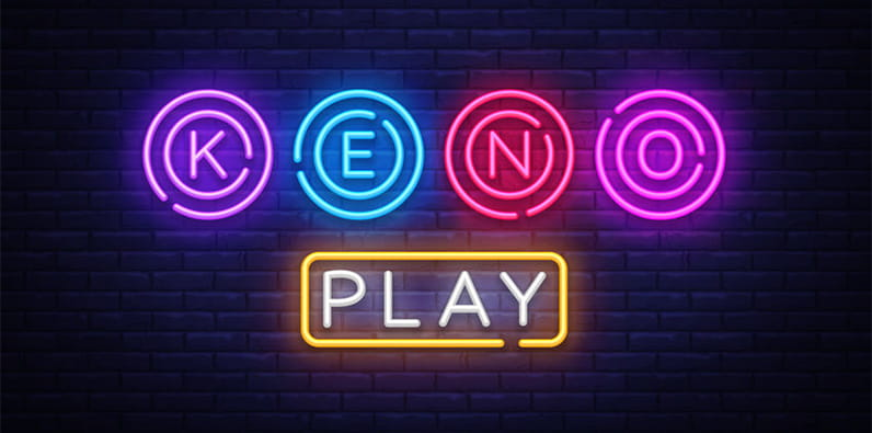 Keno Online Casino Game